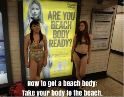 Beach body - Google images